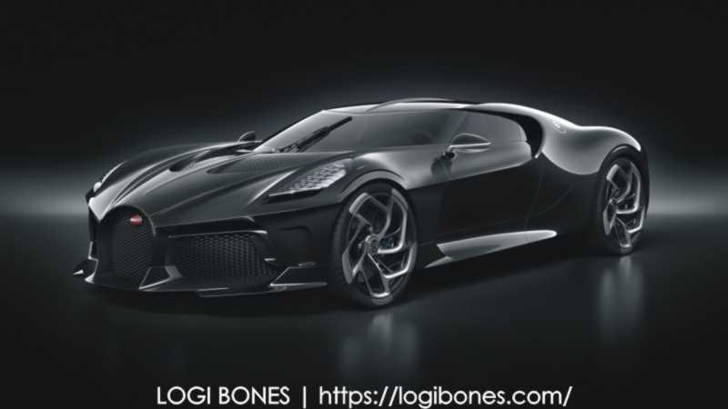Bugatti La Voiture Noire --- most expensive cars in the world