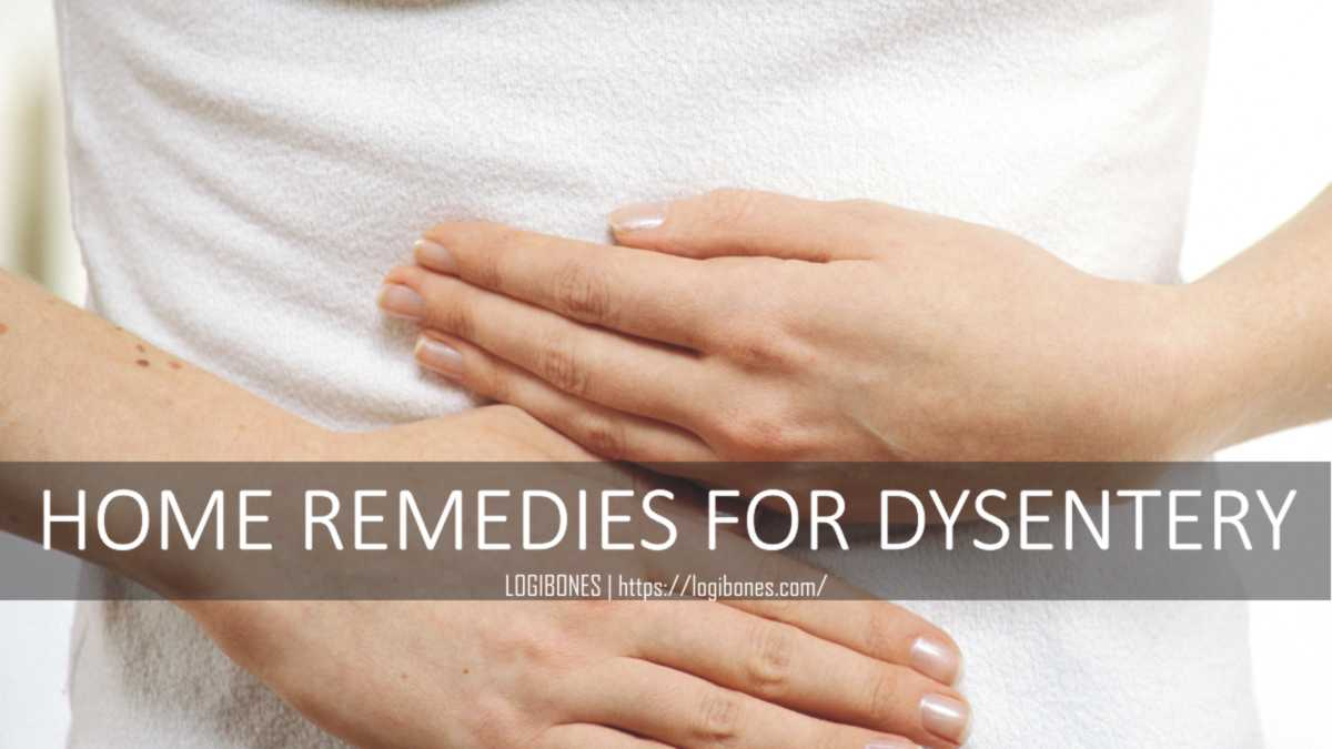 dysentery home treatment