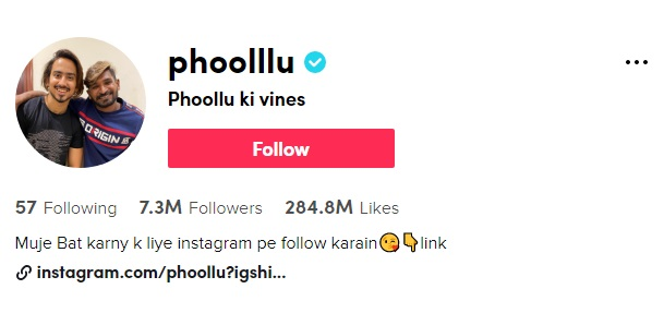 phoolllu --- Tik Tok Stars of Pakistan