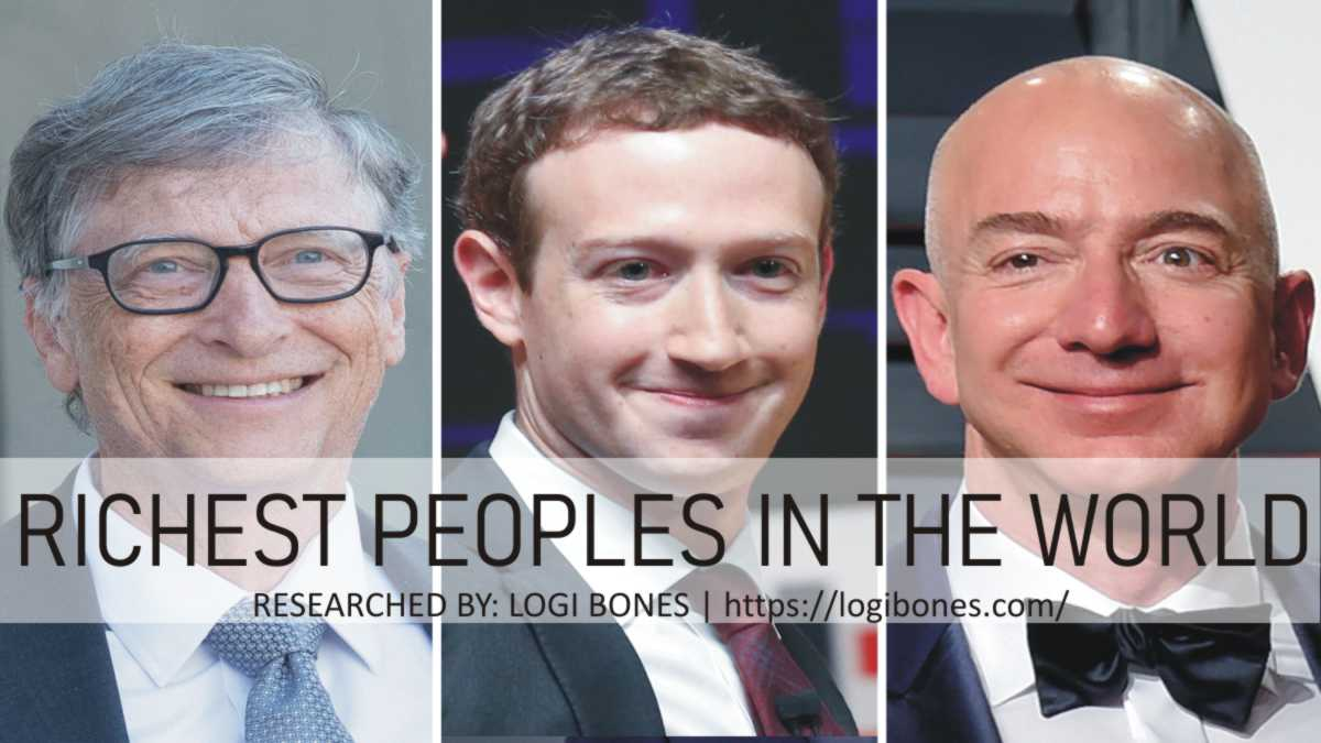 richest peoples in the world