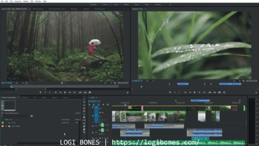 Adobe Premiere Pro -- video editing software free