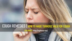 cough remedies -- turmeric milk for cough