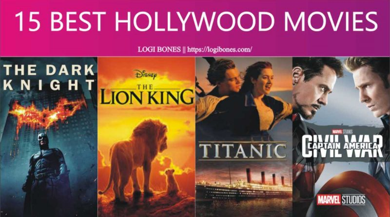 Hollywood best Movies - 15 Best Ever Movies