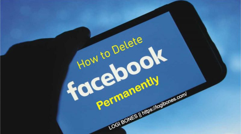 how delete facebook account