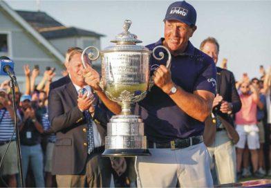Phil Mickelson -- pga champion