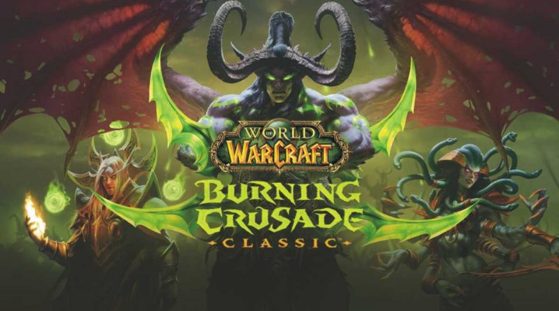 World of Warcraft Classic Burning Crusade Classic