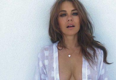 elizabeth hurley topless