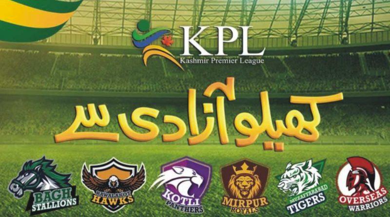 kashmir premier league schedule 2021 kpl schedule 2021