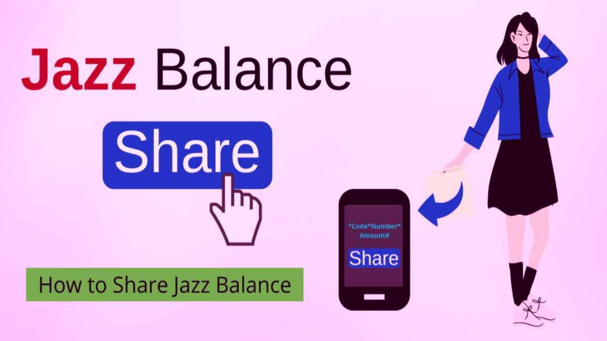 Jazz balance share code